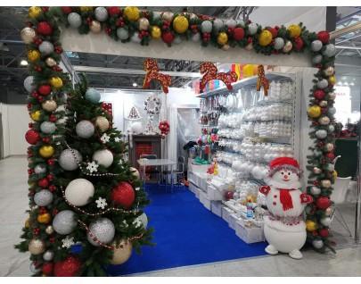 Выставка Christmas Box. Podarki начала свою работу