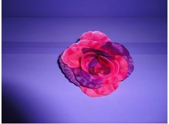 """Цветочная головка розы """"Принцесса"""" двухцветная Ø13см (1шт)"""