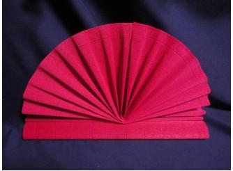 Гофрированная бумага №986/586/вишневый/50х250см (1рулон)