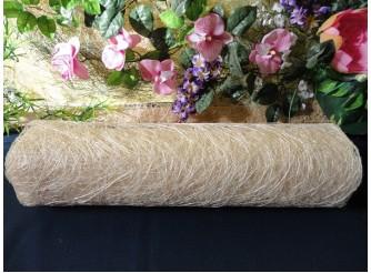 Сизалевое полотно, цвет отбеленный 48х9ярд (1рулон)
