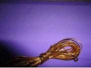 Шнур декоративный золотой 2ммх5м (1шт)