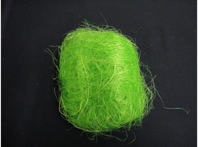 Сизалевое волокно зеленое яблоко 25гр (1пак)