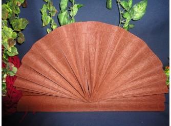 Гофрированная бумага №568/коричневый/ 50х250см (1рулон)