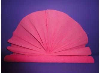 Гофрированная бумага №554/розовый/ 50х250см (1рулон)