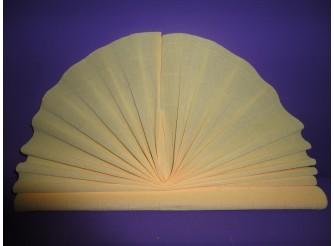 Гофрированная бумага №577/кремовый/ 50х250см (1рулон)
