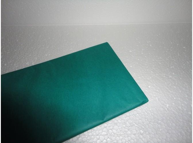Бумага тишью темно-зеленая 50х66 (1лист)
