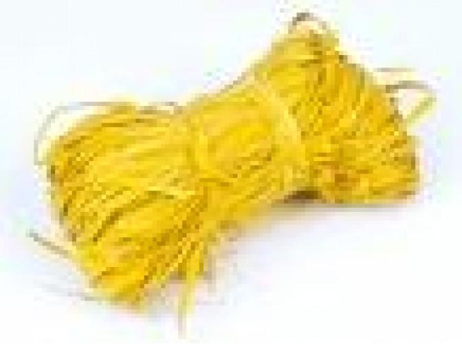 Рафия натуральная желтая 25гр (1пак)
