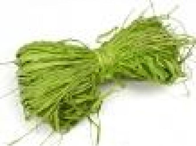 Рафия натуральная салатовая 25гр (1пак)