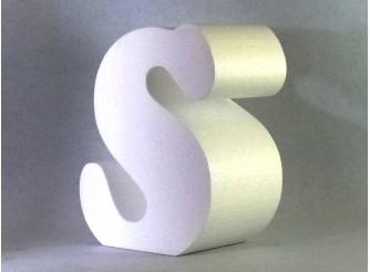 Калькулятор - расчет объемных букв из пенопласта, толщина 30 см