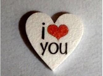 """Валентинка """"Ты в моем сердце""""/пенопласт/принт (набор 5шт)"""