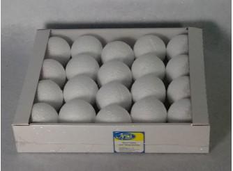 Шар из пенопласта Ø6 см / фактурный (коробка 20 шт)
