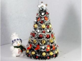 """Новогодняя елка """"Зимушка"""" h43см/d29 см (1шт)"""
