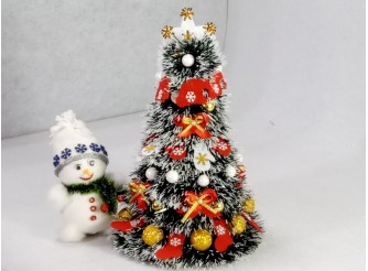"""Новогодняя елка """"Нарядная"""" h35см/d24 см (1шт)"""