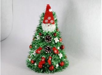 """Новогодняя елка """"Морозко"""" h43см/d29 см (1шт)"""