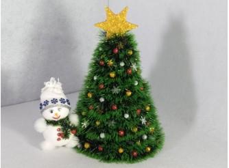 """Новогодняя елка """"В лесу родилась елочка"""" h35см/d24 см (1шт)"""
