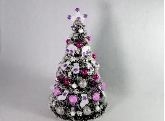 """Новогодняя елка """"Merry christmas"""" h35см/d24 см"""
