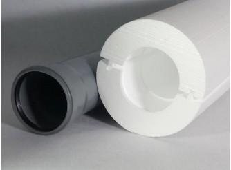 """Теплоизоляция для труб """"Скорлупа"""" для трубы 32 мм (1м)"""