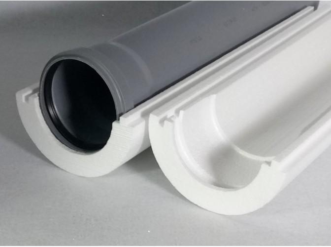 """Теплоизоляция для труб """"Скорлупа"""" для трубы 114 мм (1м)"""