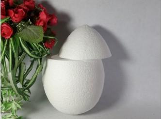 Яйцо из пенопласта полое h35 см/две поперечные половинки (1шт)