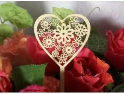 Сердечки - заготовки из фанеры