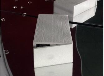 Коробка с крышкой/ 2 секции/25.5*8.5*15см/пенопласт (1комплект)