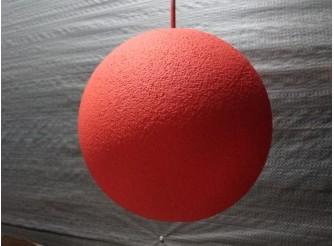 Шар из пенопласта цветной Ø70см (1шт)