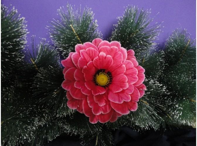 Цветочная головка Мак малиновый Ø15,5см (1шт)