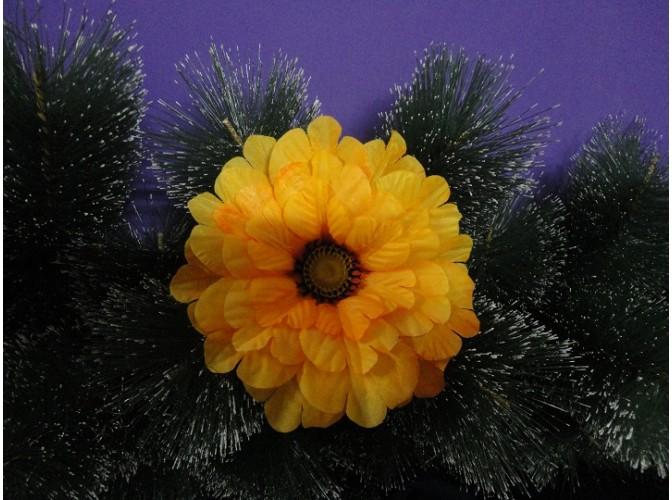 Цветочная головка Мак ярко-желтый Ø15,5см (1шт)