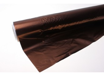 Полисилк шоколад/серебро 100смх1м