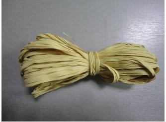 Рафия искусственная, цвет олива, 10м (1шт)
