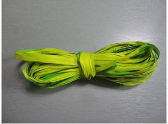 Рафия искусственная, цвет салатовый, 10м (1шт)