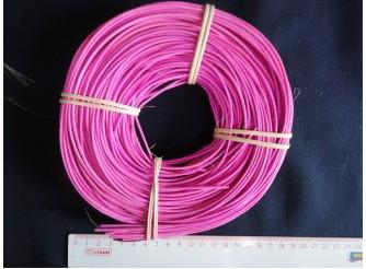 Лоза ротанг яр.розовая в мотке 1,75 (100гр)