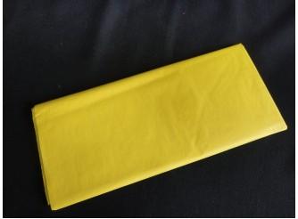 Бумага тишью желтая 50х66 (1лист)