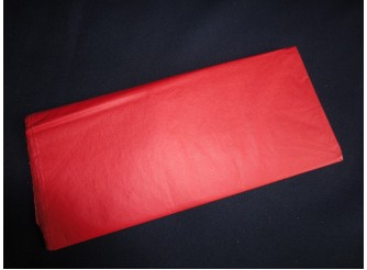 Бумага тишью красная 50х66 (1лист)