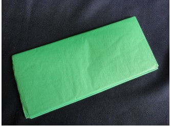 Бумага тишью зеленая 50х66 (1лист)