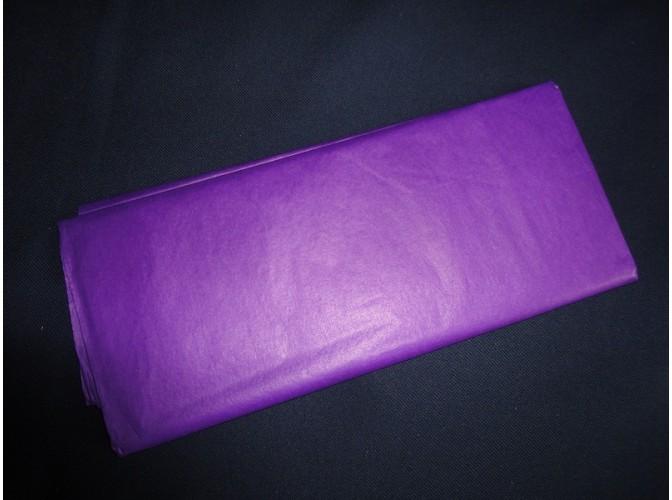 Бумага тишью фиолетовая 50х66 (1лист)