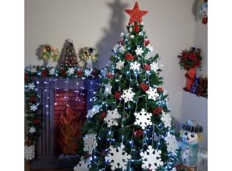 """Снежинки в наборе """"Новогодняя ночь"""" микс (набор 70 шт)"""