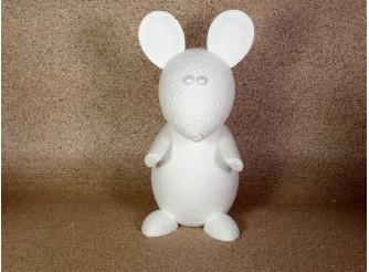 """Основа из пенопласта 3D """"Мышь большая"""" h33 cм (1шт)"""