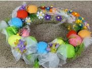 """Декор из пенопласта """"Крашенные яйца"""" h3,5см (набор 5шт)"""