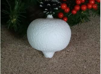 """Заготовка из пенопласта 3D """"Гранат"""" 8*7,5 см (1шт)"""