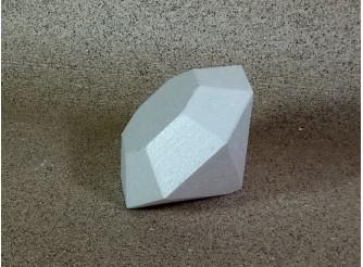 """Заготовка из пенопласта 3D """"Бриллиант"""" Ø 9см; h8 см (1шт)"""
