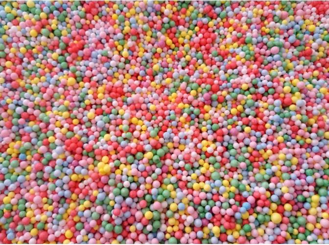 """Гранулы """"Волшебные шарики""""/цветные/ 100 мл / микс (1уп)"""