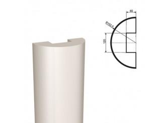 Ствол полуколонны из пенопласта ПКЛ-001 Ø200 мм/1000 мм (1шт)