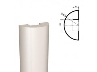 Ствол полуколонны из пенопласта ПКЛ-001 Ø330мм/1000 мм (1шт)