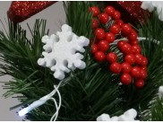 Снежинка из пенопласта Ø 10 см (1шт)