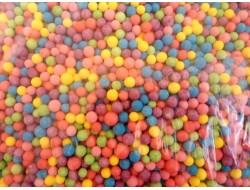 Шарики из пенопласта цветные