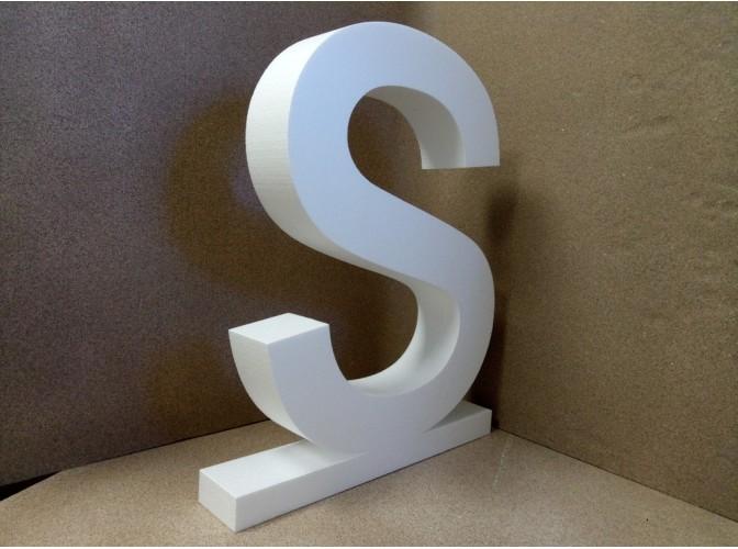 Калькулятор - расчет объемных букв из пенопласта, толщина 5 см