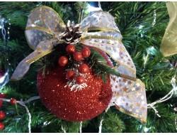 Шары новогодние с декором