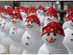 Снеговики объемные