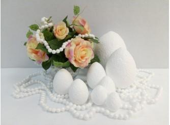 Яйцо из пенопласта - заготовка h12см (1шт)